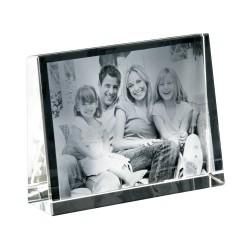 Cristalphoto format 140X105X35 cadre horizontal