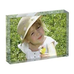 photo sur verre  105X80X19mm horizontal réf:865115
