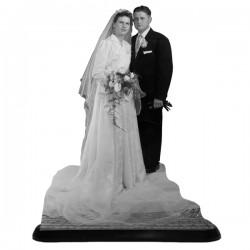 Statuette photo 3D - 15X20cm - Grandes occasions de la vie