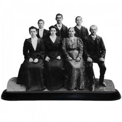Statuette photo 3D 20X30cm - Grandes occasions de la vie