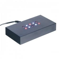 socle lumineux à lumière multicolore 110X60X20mm