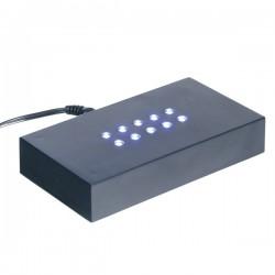 socle lumineux à lumière blanche 110X60X20mm