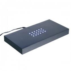 socle lumineux à lumière blanche 200X100X20mm