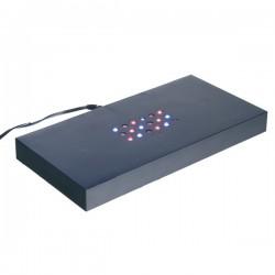 socle lumineux à lumière multicolore 200X100X20mm