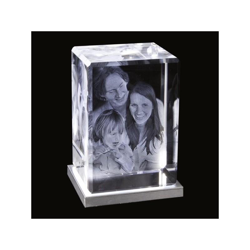 90x130x75mm gravure 3d bloc vertical photos sculpture. Black Bedroom Furniture Sets. Home Design Ideas