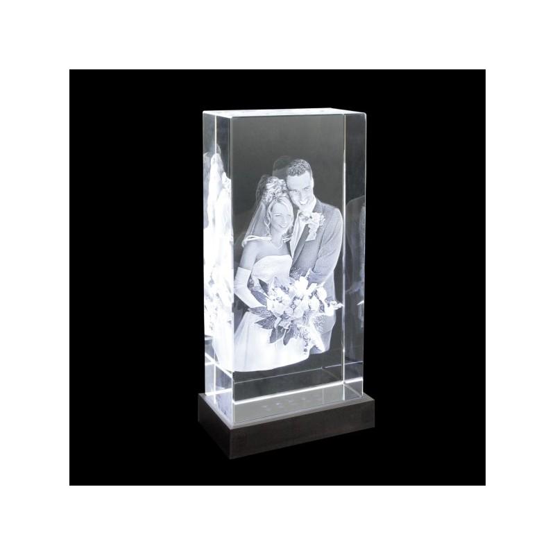 100x200x50mm gravure 3d bloc vertical photos sculpture. Black Bedroom Furniture Sets. Home Design Ideas