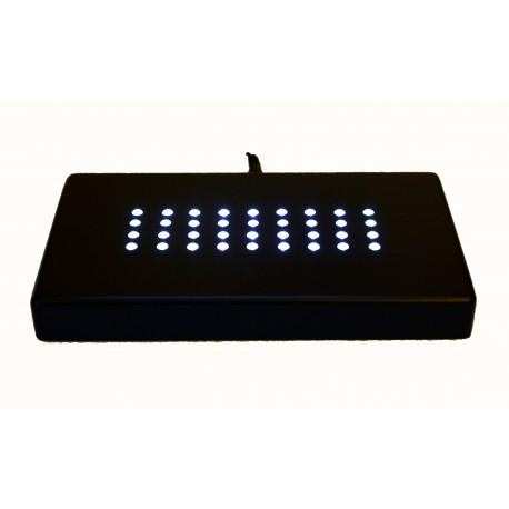 socle lumineux à lumière blanche      210X110X20mm