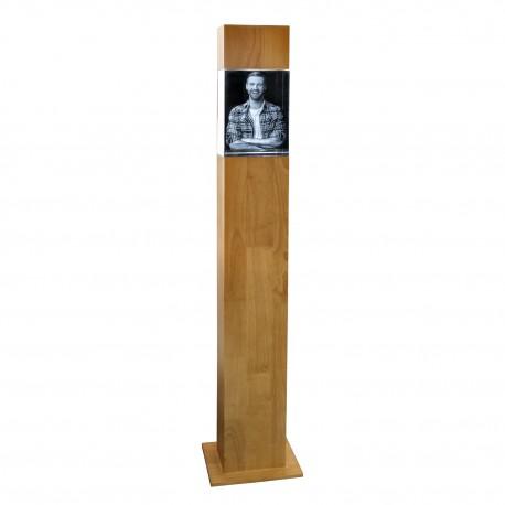 Colonne H 107,7 cm avec bloc 3D 200X150X100 vertical