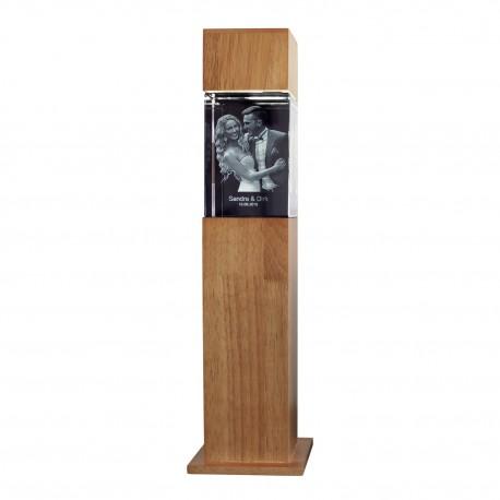 colonne H 46,7 cm avec bloc 3D  130X90X75 vertical