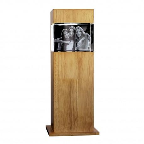 colonne H40,7 cm avec bloc 3D  130X90X75 horizontal