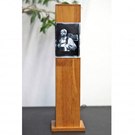 colonne H36,1 cm avec bloc 3D  100X70X60 vertical